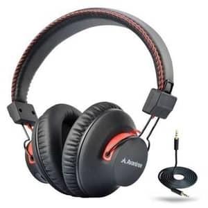 (Best Bluetooth Over Ear Headphones Under $50) Avantree BTHS-AS9-BLK