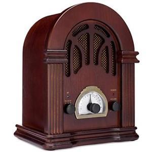 (Best Vintage Speakers) ClearClick Vintage Retro Style Speaker
